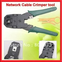 best network tools - 2015 Network Crimping Pliers Tools RJ45 RJ11 RJ12 CAT5 MODULAR Cable Tester A115 Best Free Drop Shipping
