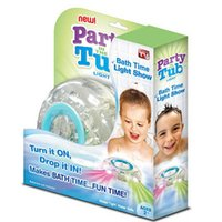 bath tub lights - Party in the Tub Kids Bath Funny LED Light Toy NOW Make Bath Time Fun OPP Package and Drop Shipping