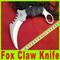 Cheap Knife gift THE ONE III Fox claw karambit G10 handle folding knife survival outdoor EDC gear pocket knife outdoor gear knife A539X
