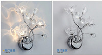 Wholesale Crystal wall lamp contemporary and contracted LED wall lamp corridor light