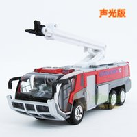airport cars - Airport fire vehicle rescue vehicle retractable ladder acoustooptical WARRIOR alloy toy car model