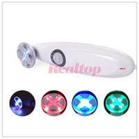 Wholesale RF EMS LED Light Handheld Facial Message Multi functional Skin Whitening facial lifting beauty machine for home use