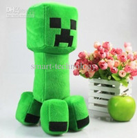 Anime & Comics hot video games - New Game Minecraft quot cm Creeper Soft Plush Toys Stuffed Doll Cute Soft toys Collection Gift inches Hot Fans Art Plush toy
