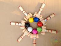Wholesale 50pcs Funny Japanese Traditional Wood Game Toy Kendama Ball Education Gift New