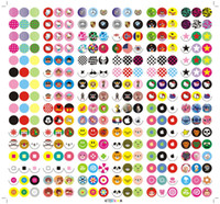 Wholesale HOME button apply to Apple s mobile phone stickers key protector Smarties