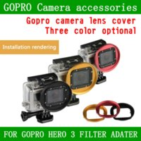 Wholesale Gopro accessorice New mm UV CPL ND Lens Filter Adapter Ring for GoPro Hero Camera