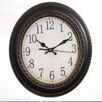 antique bathroom decor - 2016 big bathroom clock waterproof antique wall clock adornos casa d wall clock watch modern minimalist retro decor mute clock