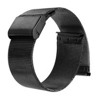 Wholesale Lowest Price Black mm mm mm mm Stainless Steel Mesh Bracelet Strap Replacement Wrist Watch Band