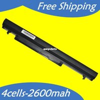 Wholesale Long time Laptop battery For Asus A31 K56 A32 K56 A41 K56 A42 K56 K56 A46C K46V A56C A56V E46 E46C K46C K56C K56V R405V S405C S40C S46C
