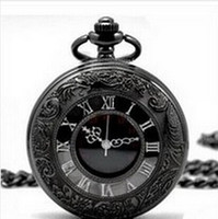 Wholesale steampunk atmos clock Vine Pocket Watch Quartz Women Men Best Gift vine watch antique big size roma number quartz watch