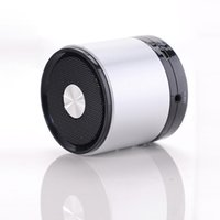 audio mobile amplifier - 2015 hot seller mini portable aluminum mobile speakers my vision S bluetooth amplifier wireless microphone speaker free DHL
