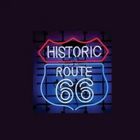 Wholesale NEW HISTORIC ROUTE LOGO AUTO HANDICRAFT NEON LIGHT BEER BAR PUB REAL GLASS TUBE SIGN x14 quot
