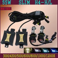 Wholesale HID car Xenon light Slim Ballasts H4 High Low k k K K K K K