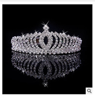Wholesale 5pc Bridal Tiara Prom Rhinestone Crystal Hair Pin Comb Heart Crown Headband Styles Women Wedding Party Jewelry Accessories TOP000599