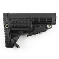 abs plastic stock - AR15 M4 Plastic Stock body Hi density ABS Plastic Six Position Color Black