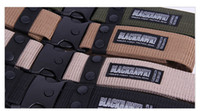 canvas belts - The high quality outdoor Black hawk tactical belt In the thick belt The fashion leisure TDU canvas belt nylon belt freeshipping
