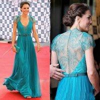 best evening dresses designers - Best Selling Custom Made Blue V neck Cap Sleeve Lace Prom Evening Party Gowns Plus Size Formal Dress Bridesmaids Dresses Designer dresses