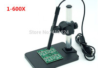 Wholesale 2015 New Upgrade USB Electronic Digital X Microscope LED Endoscope order lt no track