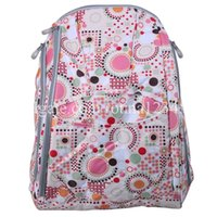 Wholesale Fashion Diaper Tote Bags Larger Capacity Baby Nappy Bag Fashion Mummy Backpack