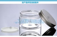 airtight storage jars - 150g clear jar with Silver lid ml Mask Bottle Plastic g Cream cans multi purpose PET Container Home Storage Airtight Jar