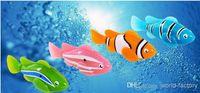 Wholesale Novelty Robo fish shark Water Activated Magical Turbot Fish Christmas Magic Toys bath toys