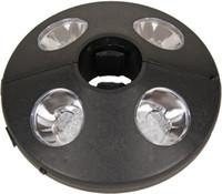 Compra Aa lámpara led-Sombrilla para el patio de luz LED portátil 24 aclaran luz al aire libre Patio Área que acampa de la lámpara 3 x AA pilas de la ajustable para encajar alrededor de Polo