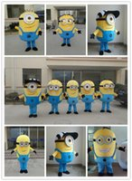 Wholesale on sale A variety of styles Despicable me minion mascot costume for adults minion mascot costume kevin stuart and bob mascot