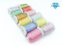embroidery machine - New Arrival Simthread D Polyester Embroidery Spools Thread Variegated Colors for Brother Embroidery Machine
