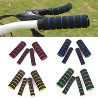 bicycle foam handlebar grips - New Arrivals Bicycle Cycling Bike Grip Handlebars Foam Parts Soft Sponge Colors CX141