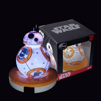 Wholesale 2016 new Star Wars night Lights LED table lamp fashion BB BB8 Quiet sleep Nightlight for children with box C393