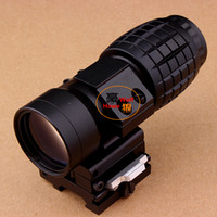 aimpoint - Tactical X Magnifier Rifle Scope with Flip to Side Mount Fit Aimpoint Scope Sight for Hunting
