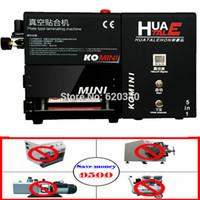 Wholesale NEW Black Arrival KO in Mini Vacuum OCA Lamination Machine Built in Mini LCD Bubble Remove Machine Max inch order lt no t