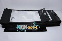 Wholesale 18 CM Zipper Plastic bag Retail Packaging Package Pouch Bag for cell phone case Mobile Phone Accessories