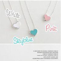 beautiful wild - Jewelry Factory beautiful women necklace small fresh exquisite wild sweet love Daren Heart Pendant statement Necklaces