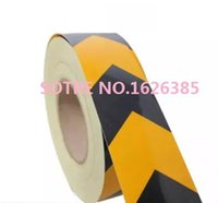 Wholesale Professional quality arrow reflective tape reflective warning tape for Road Truck and Van