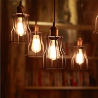 antique style lighting - New Arrivals E27 W Lamp Lighting LED Bulbs Creative Vintage Retro Filament Edison Antique Industrial Style CX159