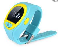 Téléphone gratuit pour les étudiants Avis-2016 50 PCS DHL libre mini lcd gps étudiants garçons gps track bluetooth watch avec fente pour carte SIM, mini call call avec sos moniteur