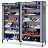 shoe cabinet - DIY Simple Cloth Shoe Racks Multiple Layer Water Proof Furniture Shoe Rack Oxford Cloth Shoe Rack Storage Cabinet Large Capacity