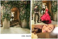 Wholesale 6 FT CM New Romantic Wedding Backgrounds Photography Backdrops Photo Studio Fondos Fotografia Vinyl Backdrops For Photography