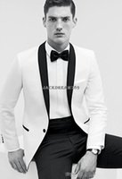 Wholesale 2015 Custom made career suits business groom tuxedos men s dress Color process classic groom tuxedos wedding suits DH