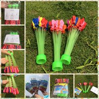 ammo - 2015 New Kids Party Toys Balloon Magic Water Balloons Quick Ammo Self tying Bombs Fun SYH10