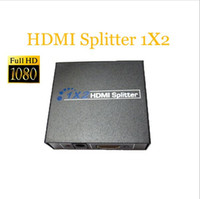 Wholesale 2 Port Hdmi Splitter D x2 HDMI Switch DC V Power Supply Adapter In Out Switcher For Audio HDTV P Video DVD