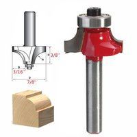 beading router bits - 1 inch x3 inch Round Corners Over Beading Edging Router Bit Steel Cutter Tool