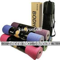 Yoga Mats yoga mat - Original BODHI Anti skidding Yoga Mat TPE mm Slip resistant Thickening Broadened Yoga Mat YJ0001