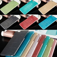 bench pink - For iPhone S inch Fashion Soft TPU Silicone Rubber Wire Drawing Draw Bench Soft Case Cover For iPhone6 quot MOQ
