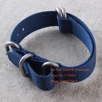 nylon straps - Blue Quartz watch bands Hours Analog US Navy Sport Men s Lume Wrist Watch Nylon Strap Wristwatches Accessories mm