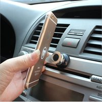 Wholesale 50 BBA5324 Magnet Holder For Iphone Plus s s Support Holder for Samsung S6 edge S5 Magnetic Car Dashboard Mobile Mount Car Phone Holder