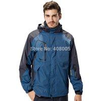 Wholesale New Autumn men s winter clothes windproof waterproof in men outdoor Skiing jackets amp coats softshell jacket men