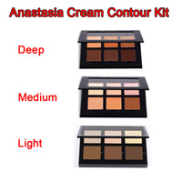 Wholesale ABH old cream New Makeup Face Contour Cream Kit LIGHT MEDIUM DEEP Colors DHL