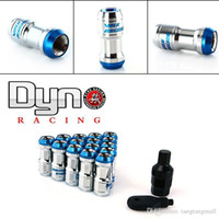 Wholesale NEW VOLK lock racing lug nuts security key per set Red Blue Black Golden P1 P1 A3